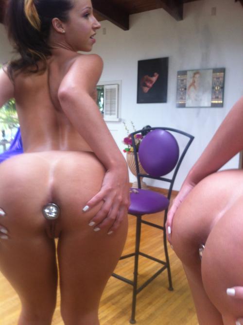Butt plug toy big ass amateur girl
