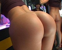 Big bubbly amateur ass