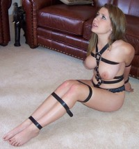 Bondage on the floor sexy – Pinner Porn