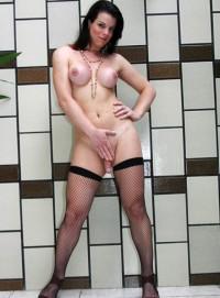 Sexy Brunette TS Babe Rochielle | Free Tgirl