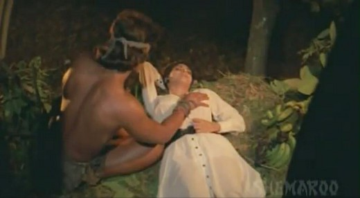 Kimi Katkar Tarzan Feels her firm Boobs Tarzan Movie | ShowMeCelebs