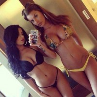 Two awesome amateur chicks