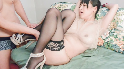 Asian bondage porn show