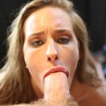 April Brookes blowjob POV