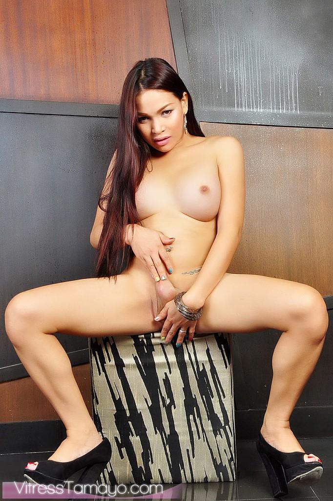 TS Vitress Tamayo Asian Tranny!