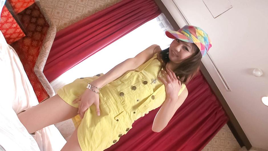 Cute and horny babe Hikaru Aoyama