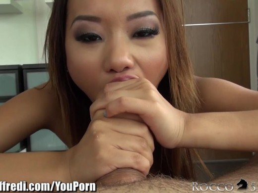 Rocco Siffredi Alina Li POV Throats the Italian Stallion
