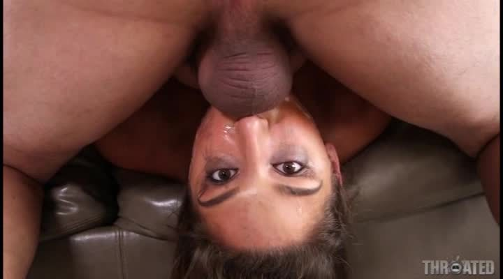 Abella Takes A Throat Fuck 2