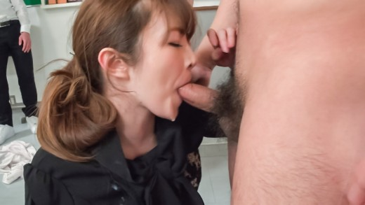 Miku Ohashi provides Japan blowjob