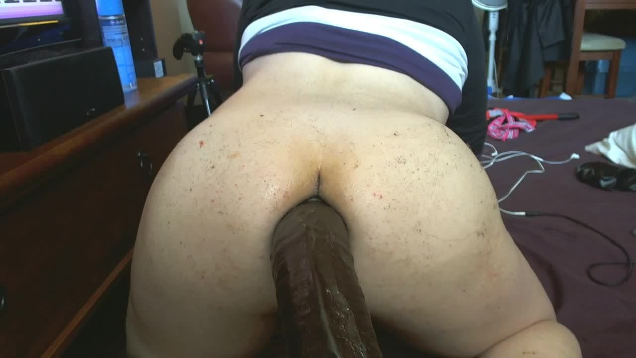 Straight guy self assfuck anal BBC