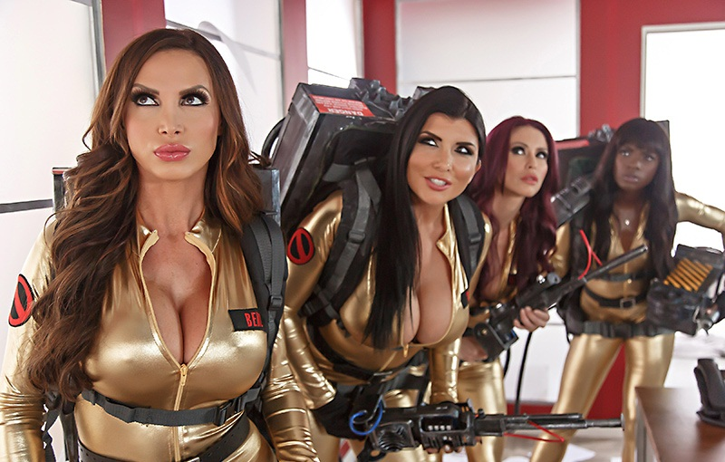 -Nikki Benz, Monique Alexander – Ghostbusters XXX Parody, Part 4