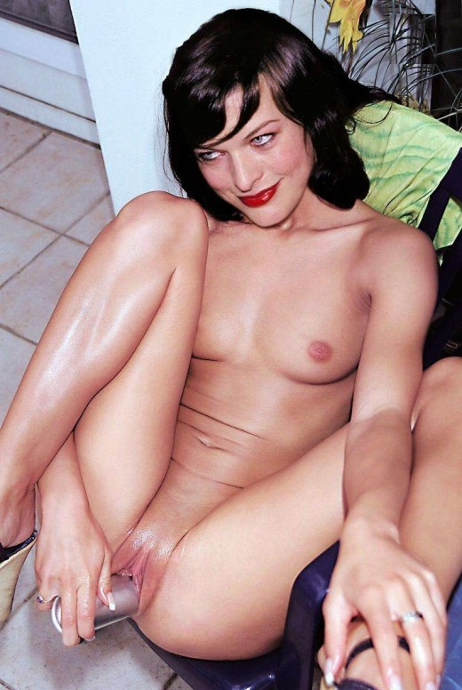 Actress Milla Jovovich Nude dildoing Pussy Images | Sexy Indian Nude & Naked Pics
