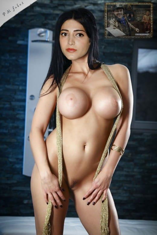 Bollywood Actress Shruti Haasan Nude Porn Photos