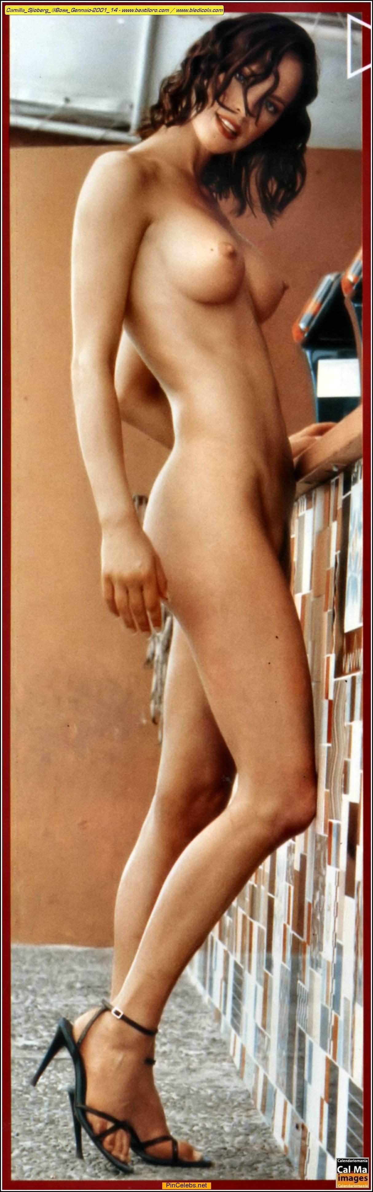 Camilla Sjioberg fully nude