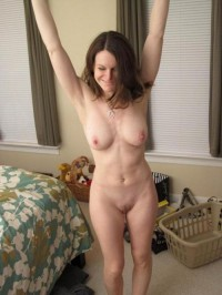 Naked wife has perfect naked body
