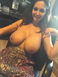 Two perfect big tits