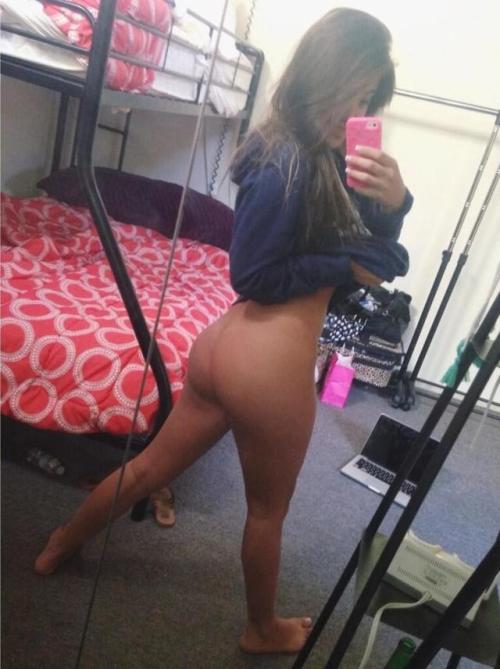 Perfect college ass