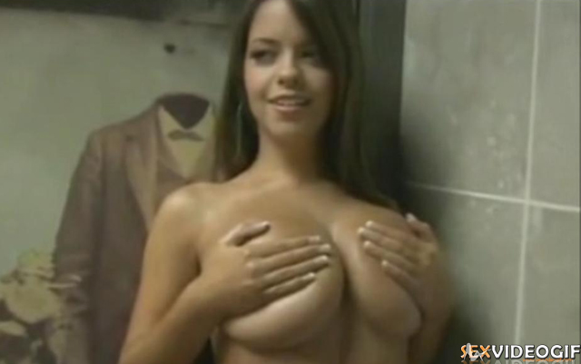 Beauty girl busty