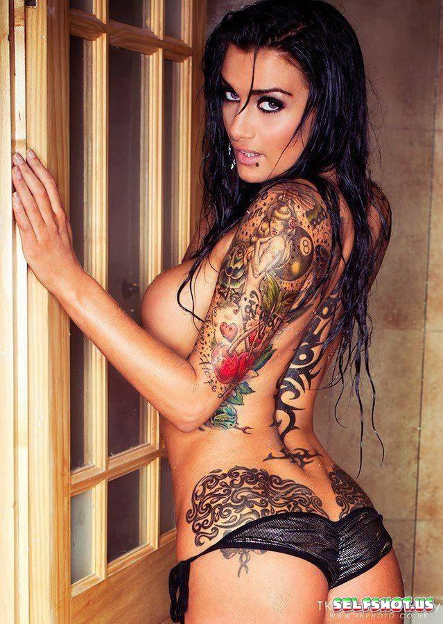 Wild Tattooed Temptress Photos | Selfshot.us