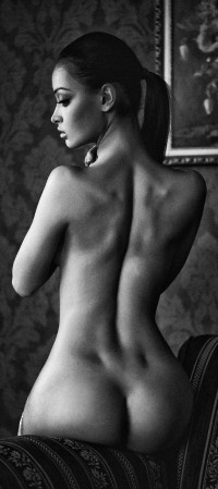 Back dimples.