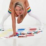 Sexy Bitches » Nikki Sims as naughty cheerleader