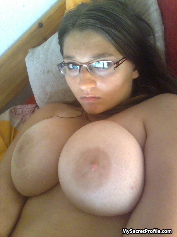 Shot big tits cute self