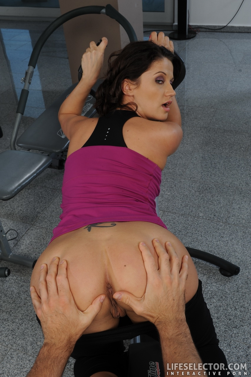 sex images aletta ocean sucking cock at the gym – muscle fever | the