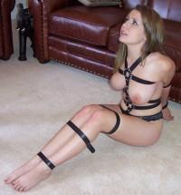 Bondage on the floor sexy – Pinner Porn