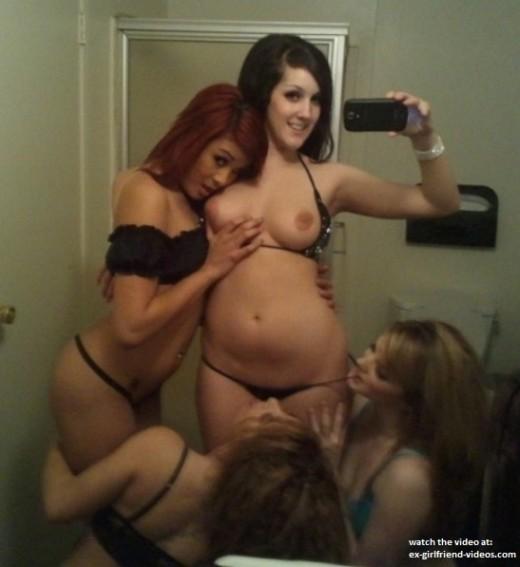 Selfie group nude