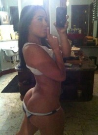 Brunette Sexting Her Big Buttcrack