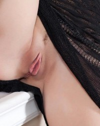 Under the black gauze skirt | Hot and minx babes