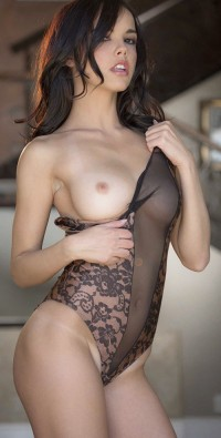 One tits out of her lingerie | Hot and minx babes
