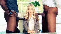 Karla Kush – Perfect Blonde With 2 Monster Black Cocks « Infernal