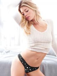 Doutzen, black, polka dots, and sweater love. | Hot Models
