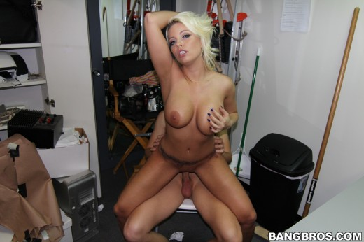 Britney Amber fucked in backstage