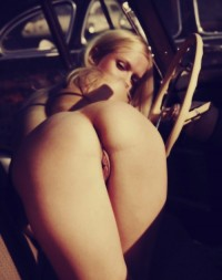 Erotic blonde with little ass posing nakedAdult gifs