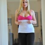 Hot fingering by busty blonde MILF – DaChicky