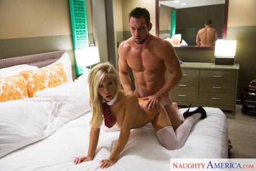 Nasty schoolgirl Tasha Reign gets hard cock