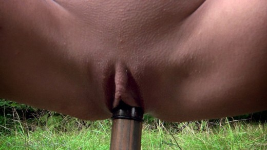 Busty milf tortured in the forest – DaChicky