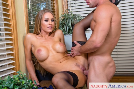 Naughty teacher Nicole Aniston fucked in classroom