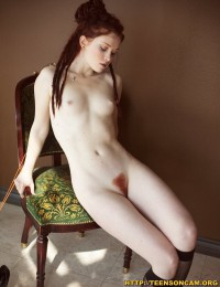Tiny Tits Redhead