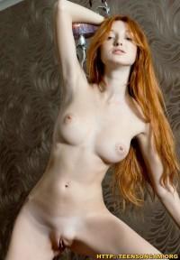 Pale Sexy Redhead