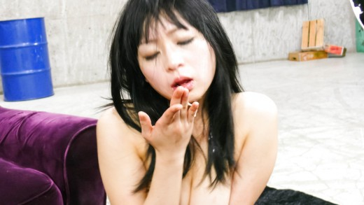 Hot asian is aroused to the maximum