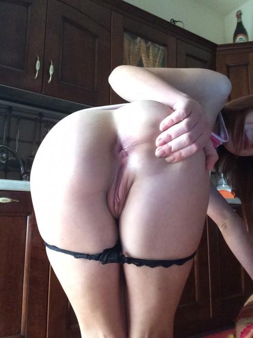Amateur Brunette Spreads Her Legs