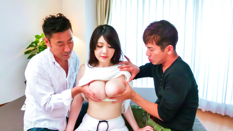 Stacked Rie Tachikawa gets an asian creampie