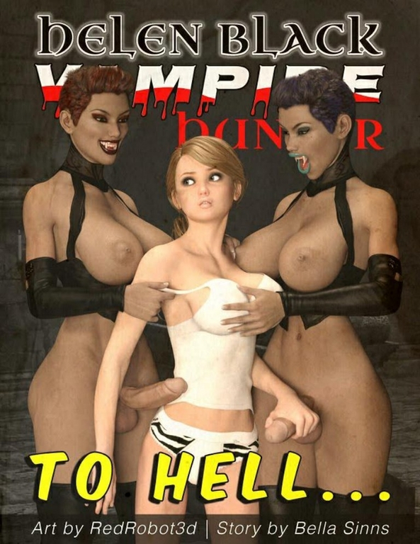 Redrobot3D – Hellen Black, Vampire Hunter 1 – To hell – XXX Comic on SVScomics