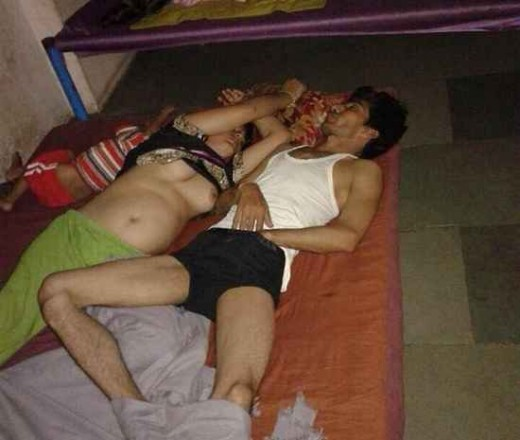 Desi Indian couple semi nude sleeping bedroom nangi photo collection | Desi XxX Blog