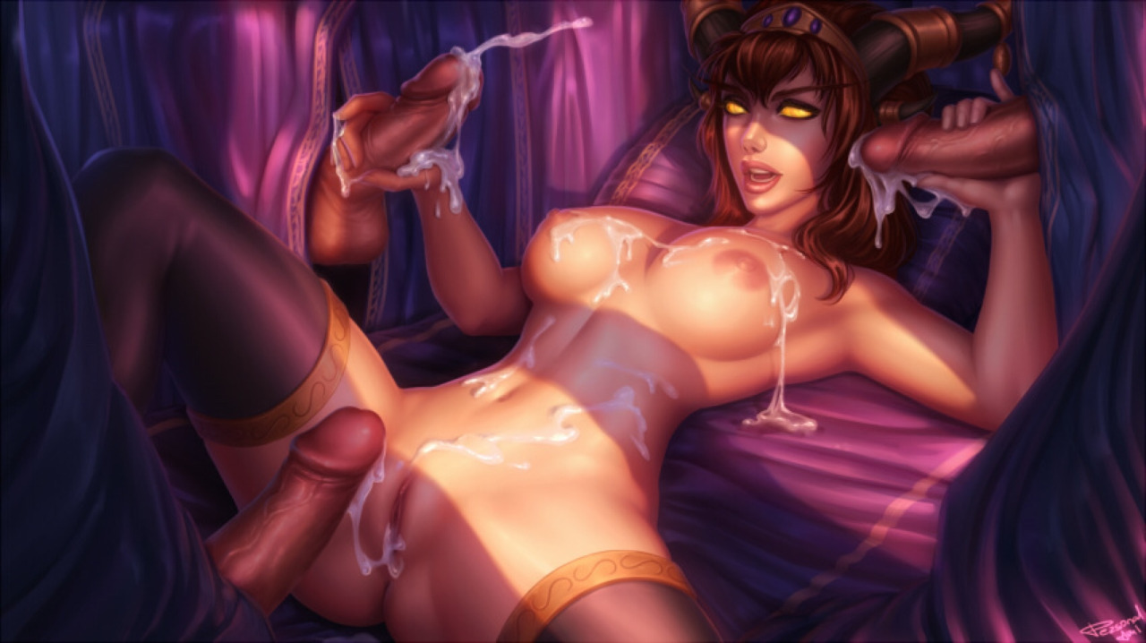World of Warcraft porn parody art by Alexstrasza