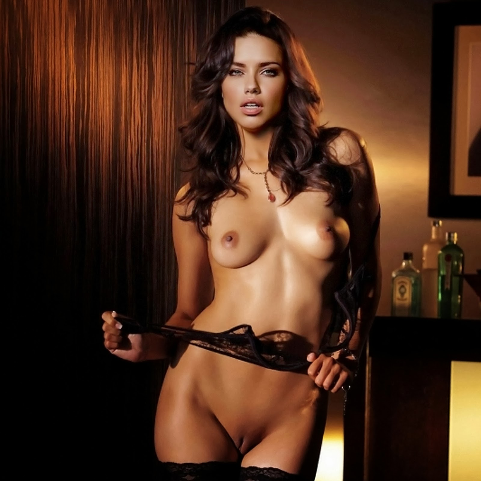 Consider, Adrianna lima pussy things, speaks)