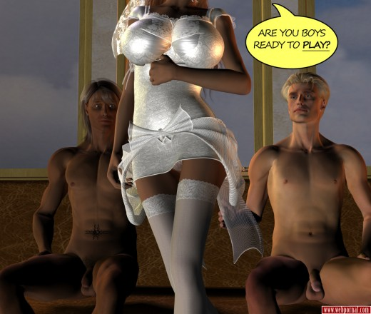 3d porn comic with sexy bride